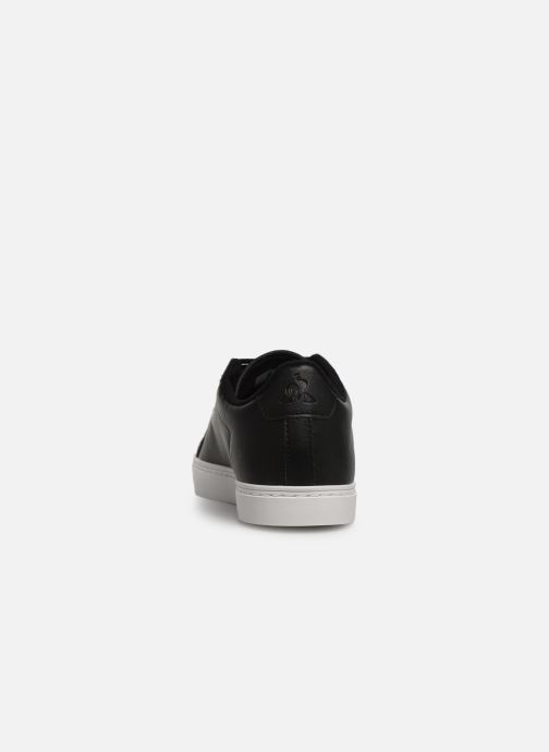 Trainers Le Coq Sportif Courtflag GS Black view from the right
