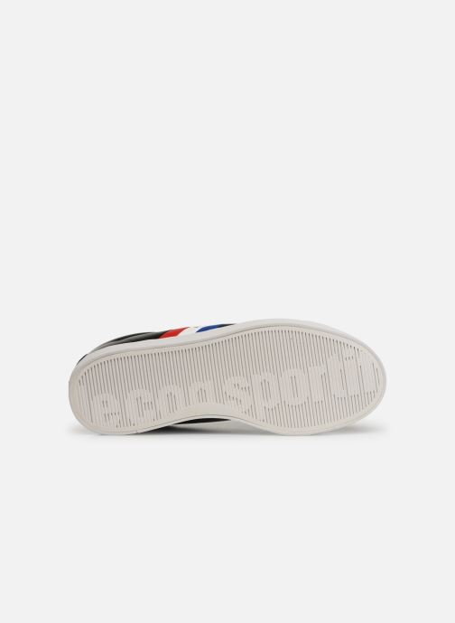 Trainers Le Coq Sportif Courtflag GS Black view from above