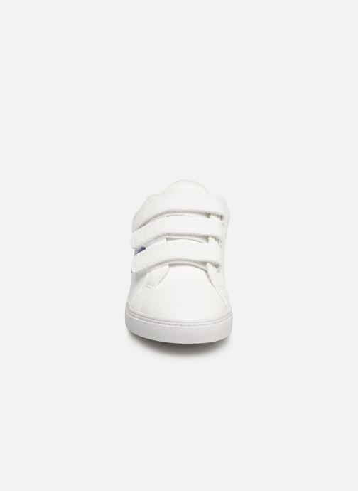 Trainers Le Coq Sportif Courtflag PS White model view