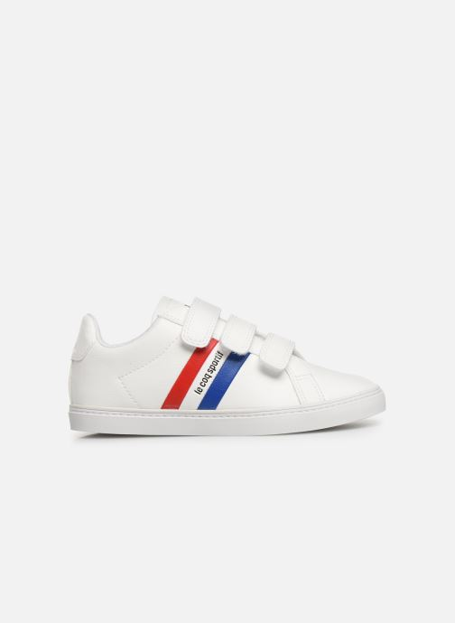 Trainers Le Coq Sportif Courtflag PS White back view
