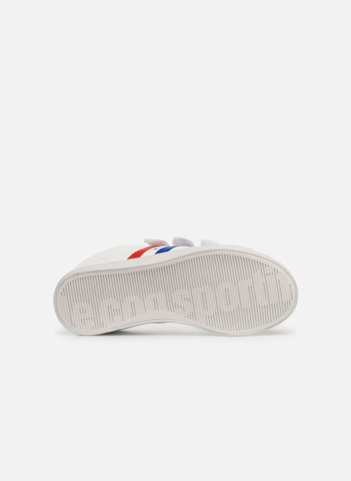 Trainers Le Coq Sportif Courtflag PS White view from above