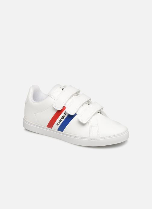 Trainers Le Coq Sportif Courtflag PS White detailed view/ Pair view