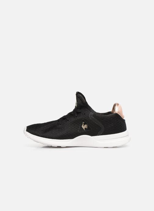 Sneaker Le Coq Sportif Solas W SHINY schwarz ansicht von vorne