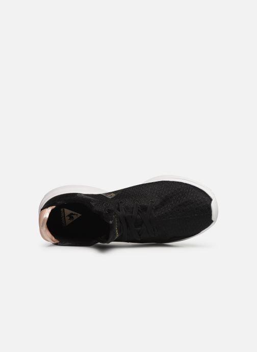 Baskets Le Coq Sportif Solas W SHINY Noir vue gauche