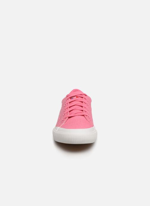 Baskets Le Coq Sportif Dune W SPORT Rose vue portées chaussures