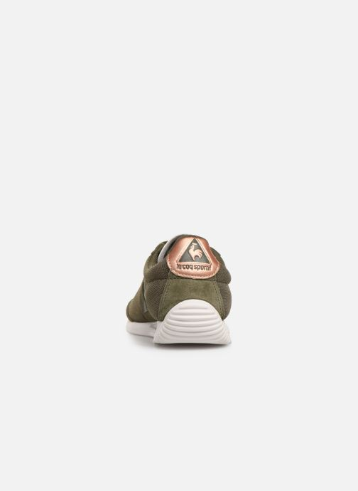 Trainers Le Coq Sportif Quartz W METALLIC Green view from the right