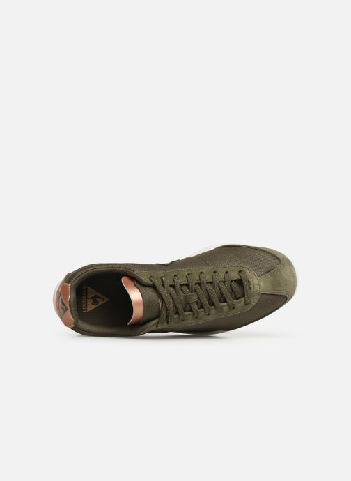 Trainers Le Coq Sportif Quartz W METALLIC Green view from the left