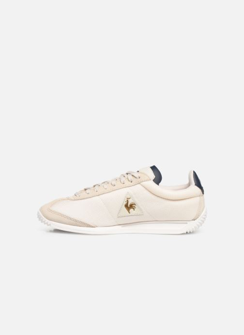 Baskets Le Coq Sportif Quartz W METALLIC Beige vue face