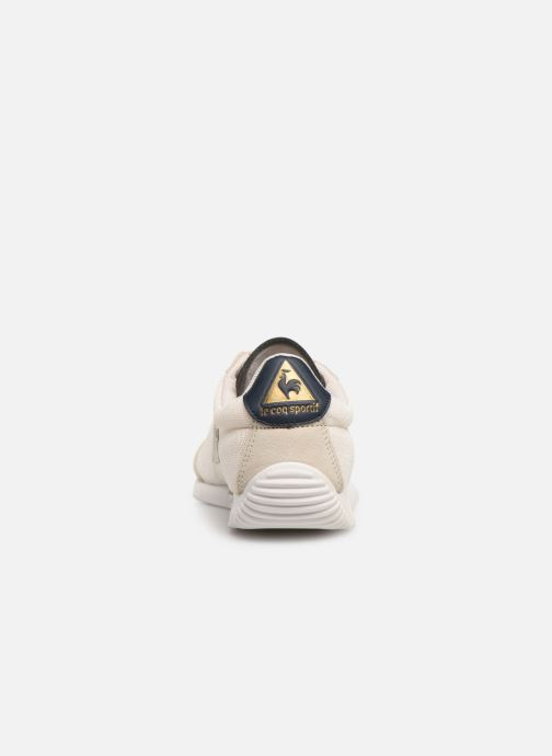 Trainers Le Coq Sportif Quartz W METALLIC Beige view from the right
