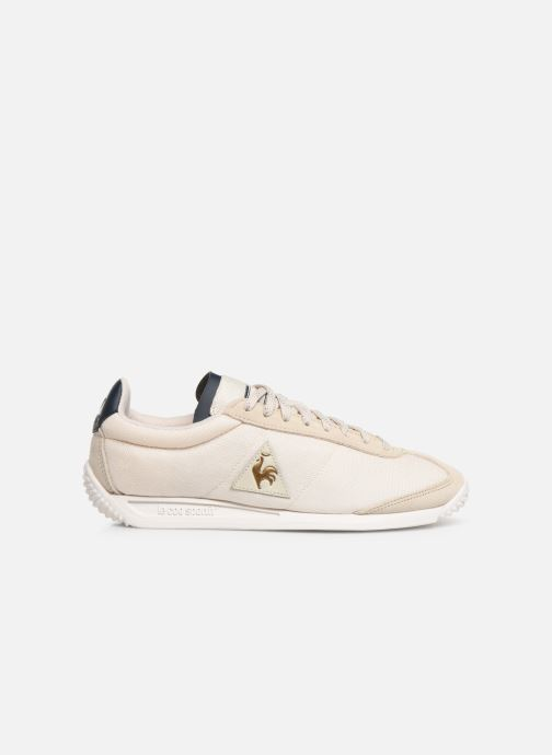 Trainers Le Coq Sportif Quartz W METALLIC Beige back view