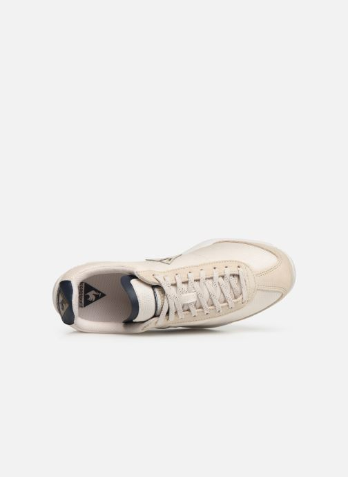 Trainers Le Coq Sportif Quartz W METALLIC Beige view from the left