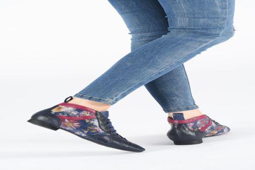 Bottines et boots Think! Guad 85288 Bleu vue bas / vue portée sac