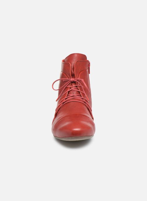 Bottines et boots Think! Guad 85279 Rouge vue portées chaussures