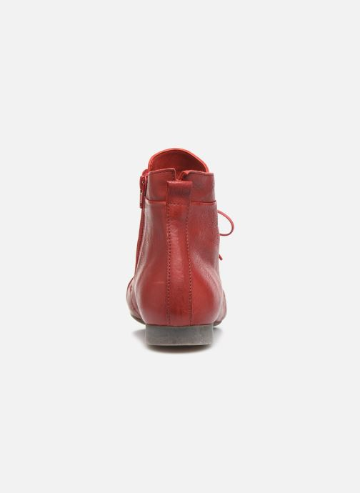 Bottines et boots Think! Guad 85279 Rouge vue droite
