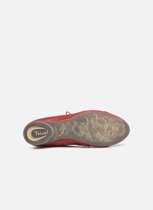 Bottines et boots Think! Guad 85279 Rouge vue haut