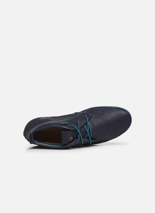 Stiefeletten & Boots Think! Kapsl 85060 blau ansicht von links