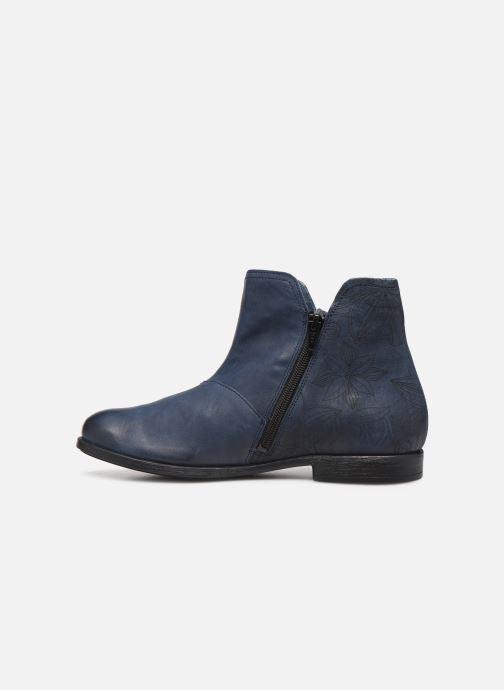 Bottines et boots Think! Agrat 85223 Bleu vue face