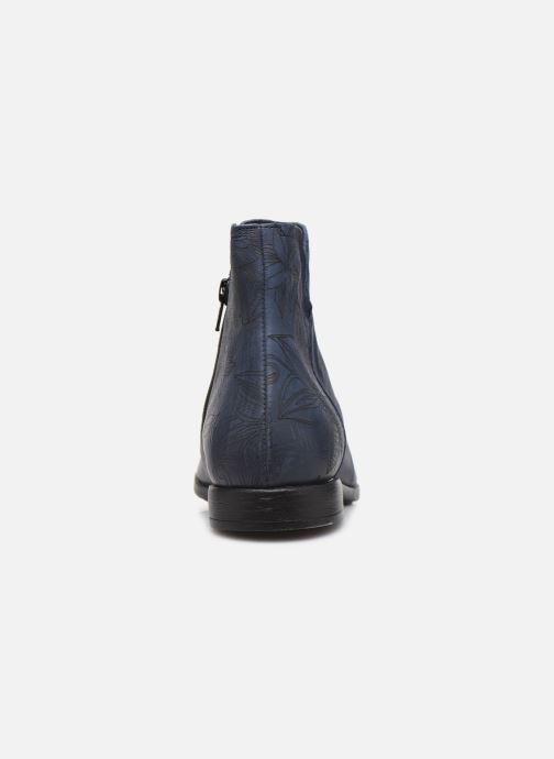 Bottines et boots Think! Agrat 85223 Bleu vue droite