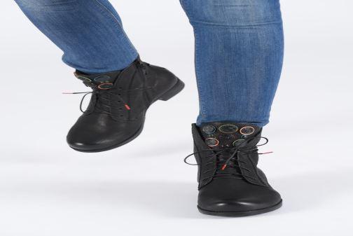 Bottines et boots Think! Denk 85013 Noir vue bas / vue portée sac