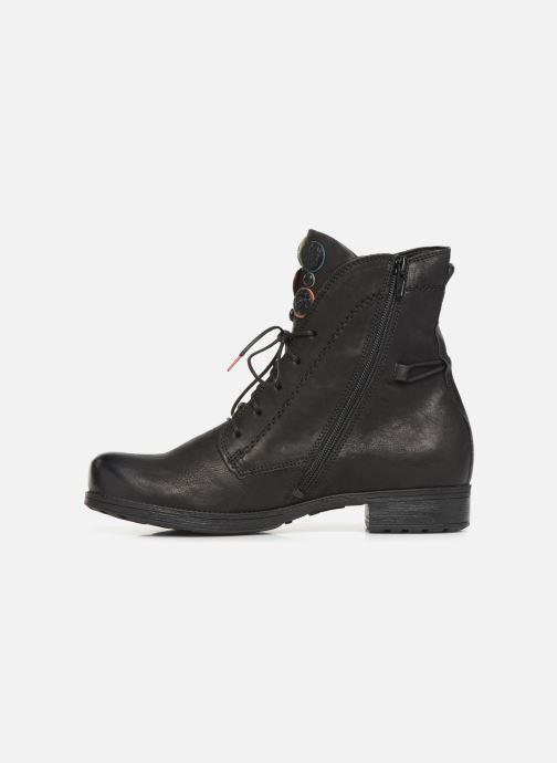 Boots en enkellaarsjes Think! Denk 85013 Zwart voorkant