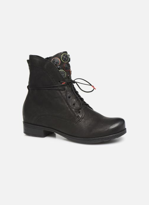 Boots en enkellaarsjes Think! Denk 85013 Zwart detail
