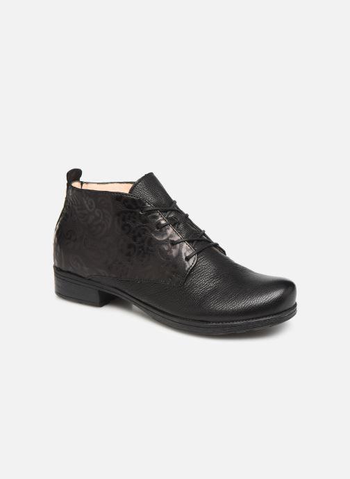 Boots en enkellaarsjes Think! Denk 85017 Zwart detail