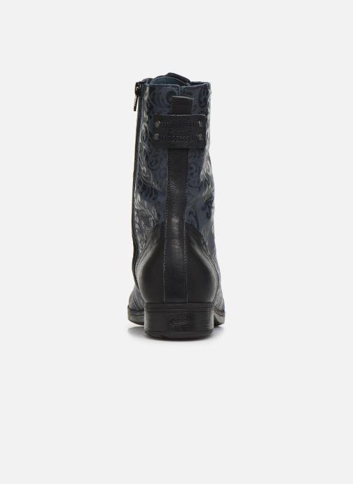 Bottines et boots Think! Denk 85024 Bleu vue droite