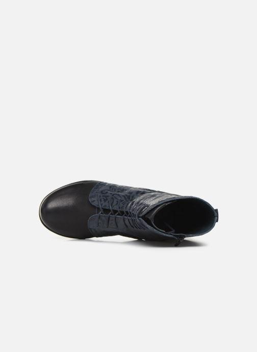 Bottines et boots Think! Denk 85024 Bleu vue gauche