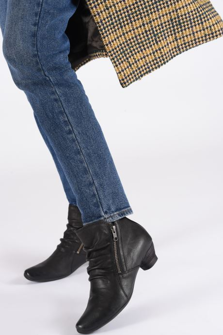Bottines et boots Think! Aida 85266 Noir vue bas / vue portée sac