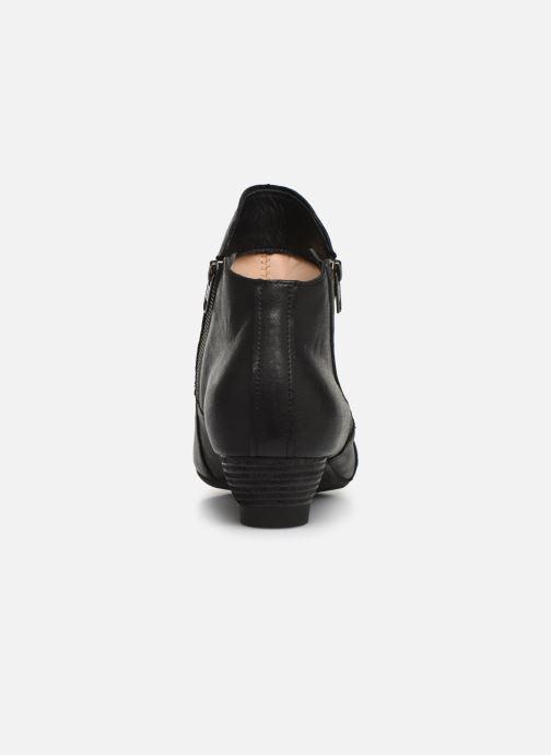 Bottines et boots Think! Aida 85266 Noir vue droite