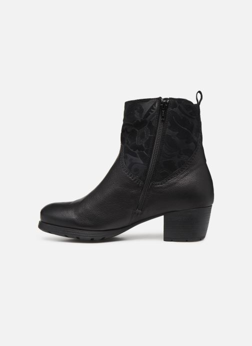 Bottines et boots Think! Obajo 85192 Noir vue face