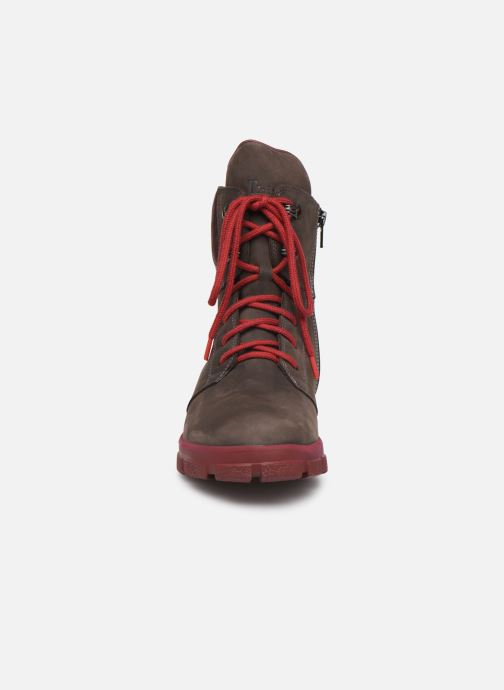 Bottines et boots Think! Iaz 85136 Marron vue portées chaussures