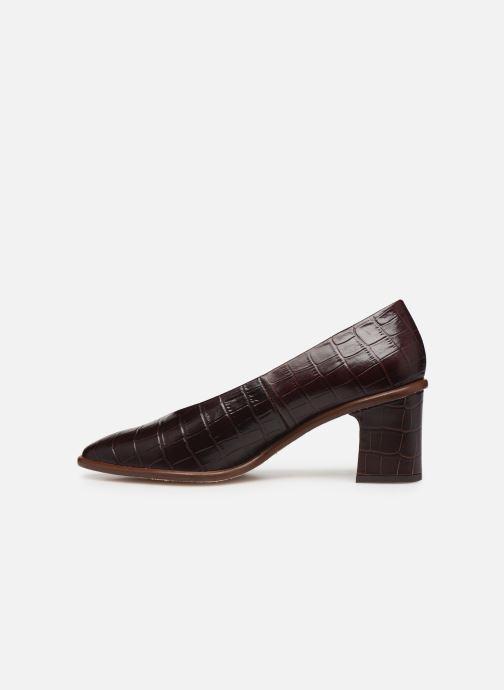 Zapatos de tacón Miista Bernadette Marrón vista de frente