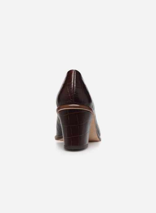 Zapatos de tacón Miista Bernadette Marrón vista lateral derecha