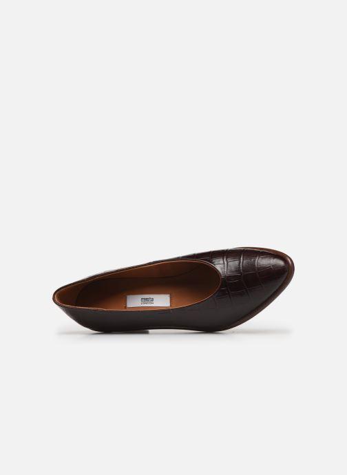 Zapatos de tacón Miista Bernadette Marrón vista lateral izquierda