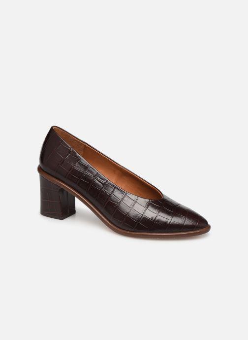 Zapatos de tacón Miista Bernadette Marrón vista de detalle / par