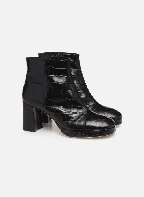 Bottines et boots Miista Edith Noir vue 3/4