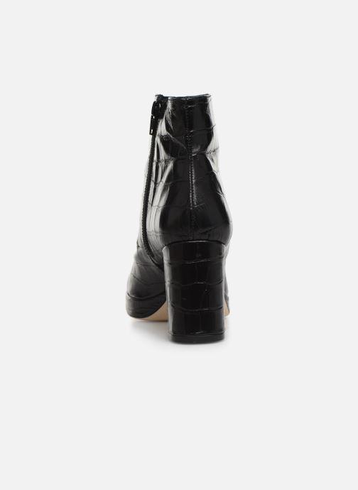 Bottines et boots Miista Edith Noir vue droite