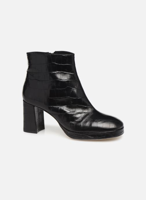 Ankle boots Miista Edith Black detailed view/ Pair view