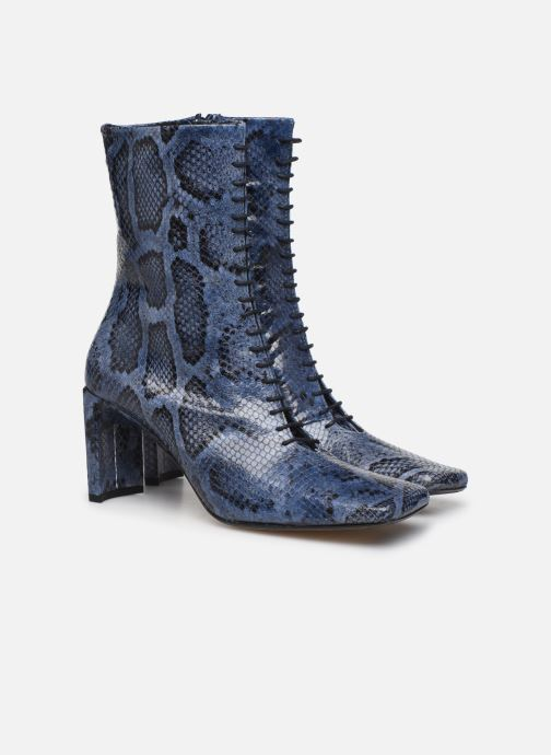 Bottines et boots Miista Ania Bleu vue 3/4