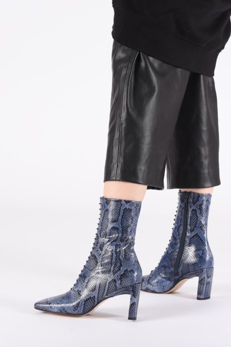 Bottines et boots Miista Ania Bleu vue bas / vue portée sac