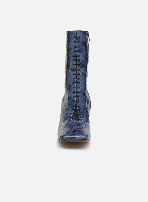 Bottines et boots Miista Ania Bleu vue portées chaussures
