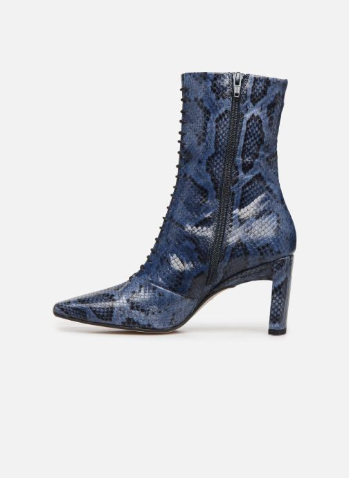Bottines et boots Miista Ania Bleu vue face