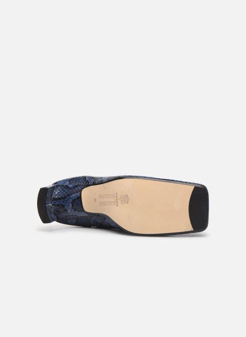 Bottines et boots Miista Ania Bleu vue haut