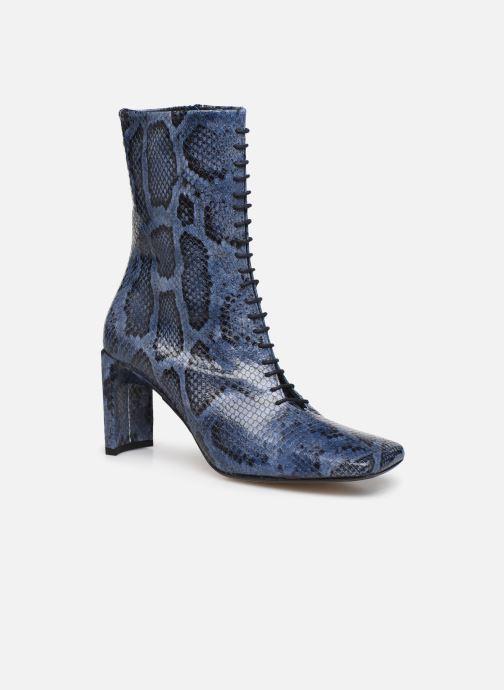 Bottines et boots Miista Ania Bleu vue détail/paire