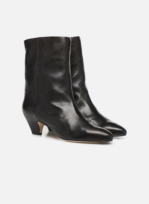 Bottines et boots Miista Liza Noir vue 3/4