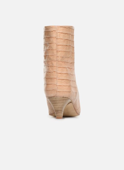 Bottines et boots Miista Liza Beige vue droite