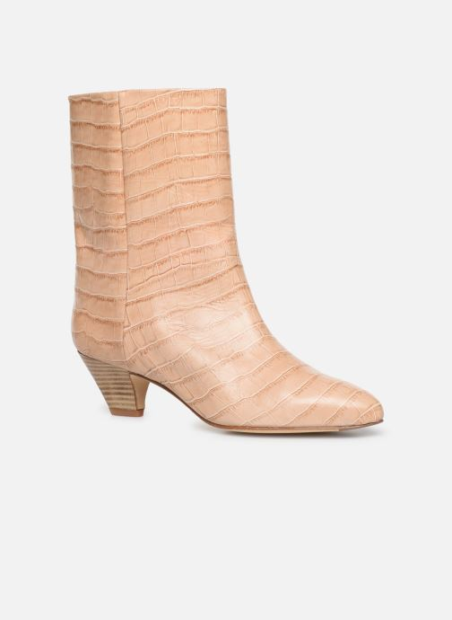 Bottines et boots Miista Liza Beige vue détail/paire