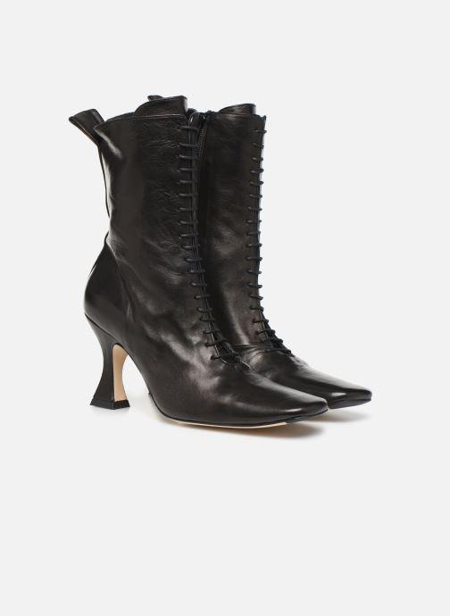 Bottines et boots Miista Yana Noir vue 3/4