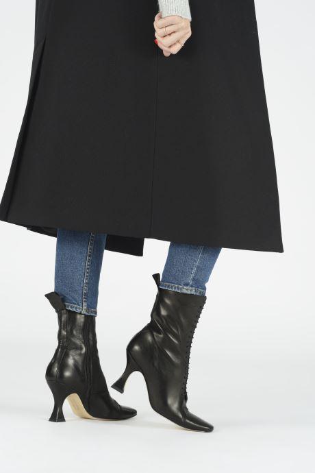 Bottines et boots Miista Yana Noir vue bas / vue portée sac